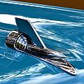 Blue 57 Chevy Bel Air by Dean Ferreira
