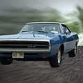 Blue 70 Charger by Thomas Woolworth