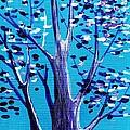 Blue And White by Anastasiya Malakhova