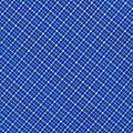 Blue And White Diagonal Plaid Pattern Cloth Background by Keith Webber Jr