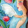 Blue  Angel by Elaine Jackson