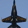 Blue Angel F/a-18 by John Clark