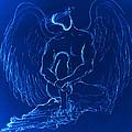 Blue Angel by Giorgio Tuscani