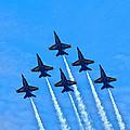Blue Angel Team by John Devlin