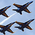 Blue Angels Over Colorado by Bob Hislop