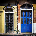 Blue Arch Door by Perry Webster