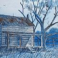 Blue Landscape by Don Hand