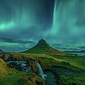 Blue Aurora Burst by Peerakit Jirachetthakun