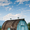Blue Barn In The Stillaguamish Valley by Jeff Goulden