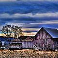 Blue Barn by Jes Fritze