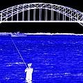 Blue Bay Bridge by Ed Weidman