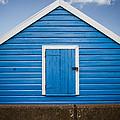 Blue Beach Hut by Dayne Reast