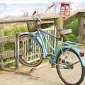 Blue Bike by Alice Gipson