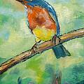 Blue Bird 2 by Carol Jo Smidt