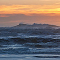 Blue Black Tide At Sunset by Daniel Furon