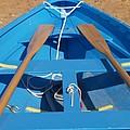 Blue Boat by Richard Mansfield