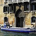 Blue Boat Venice by Timothy Hacker
