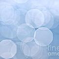Blue Bokeh Background by Elena Elisseeva