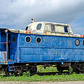 Blue Caboose by Guy Whiteley