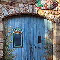 Blue Cafe Doors by Brian Jannsen