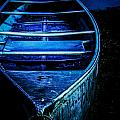 Blue Canoe by Michael Arend