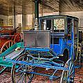 Blue Carriage by John Lynch