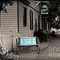 Blue Cart by Aaron  Shortt