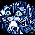 Blue Cat Green Eyes by Nick Gustafson