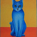 Blue Cat by Pamela Clements