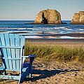 Blue Chair by Brian Jannsen