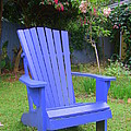 Blue Chair by Mary Deal