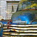 Blue Chevy   by Nancy Patterson