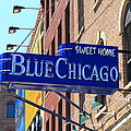 Blue Chicago Club by Frank Romeo