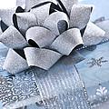 Blue Christmas Gift by Elena Elisseeva