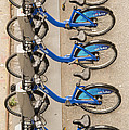 Blue City Bikes by Bob Phillips