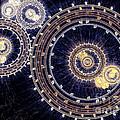 Blue Clockwork by Martin Capek