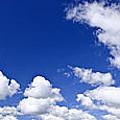 Blue Cloudy Sky Panorama by Elena Elisseeva