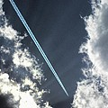 Blue Contrail by Shannon Story