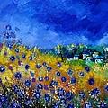 Blue Cornflowers 774180 by Pol Ledent