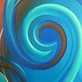 Cosmic Swirl By Reina Cottier by Reina Cottier
