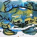 Blue Crab by Norma Gafford