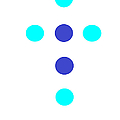 Blue Cross by Anita Dale Livaditis