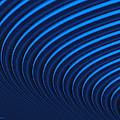 Blue Curves by Judi Suni Hall