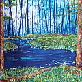 Blue Day Stream by Stefan Duncan