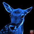 Blue Deer - 0401 F by James Ahn