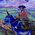 Blue Donkey by Derrick Higgins