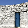 Blue Door by Corinne Rhode