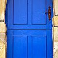 Blue Door by Frank Tschakert