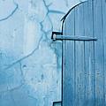 Blue Door In St. Thomas Virgin Islands by Jared Shomo