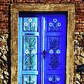 Blue Door by Joan Carroll